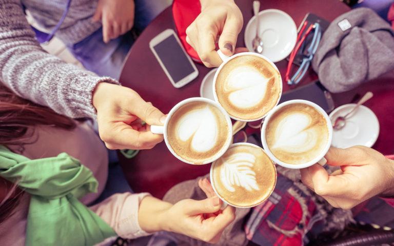 Lieblings-Cafe finden duch die 1a Homepage