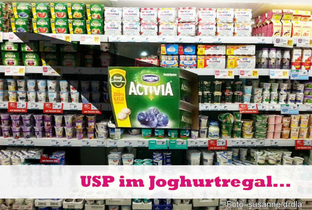 Der USP – oder wie Sie im Joghurtregal gefunden werden