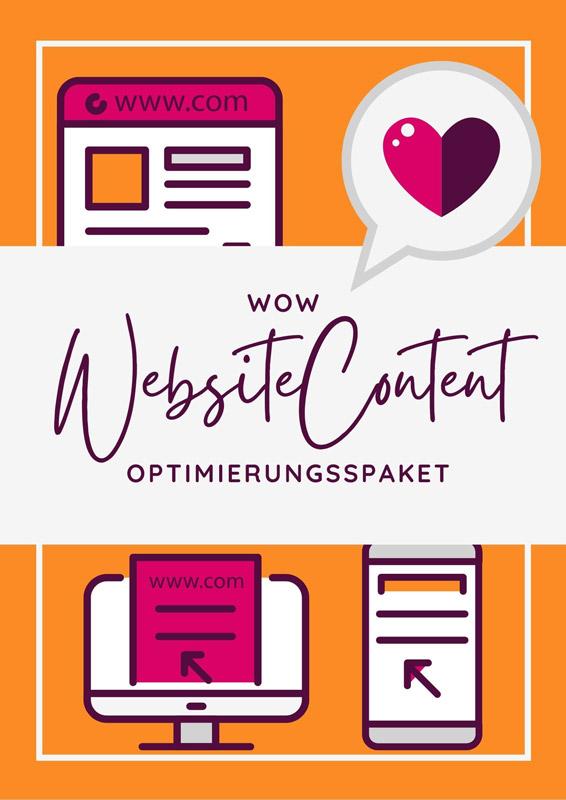 WOW Website-Content Optimierungspaket