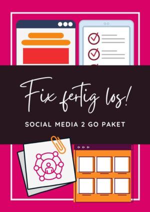 Fix Fertig Los! - Social Media 2 go Paket